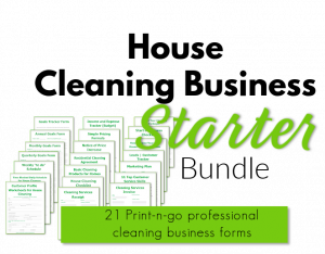 21 cleaning business forms