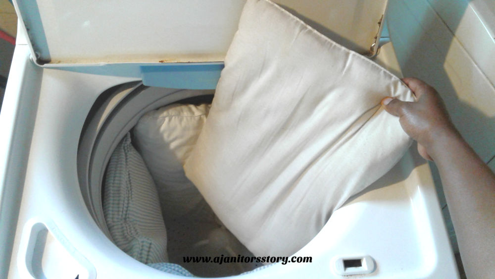 Best Practices for washing a pillow. putting 3 pillows in a white hi