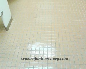 How to professionally deep scrub floor tile