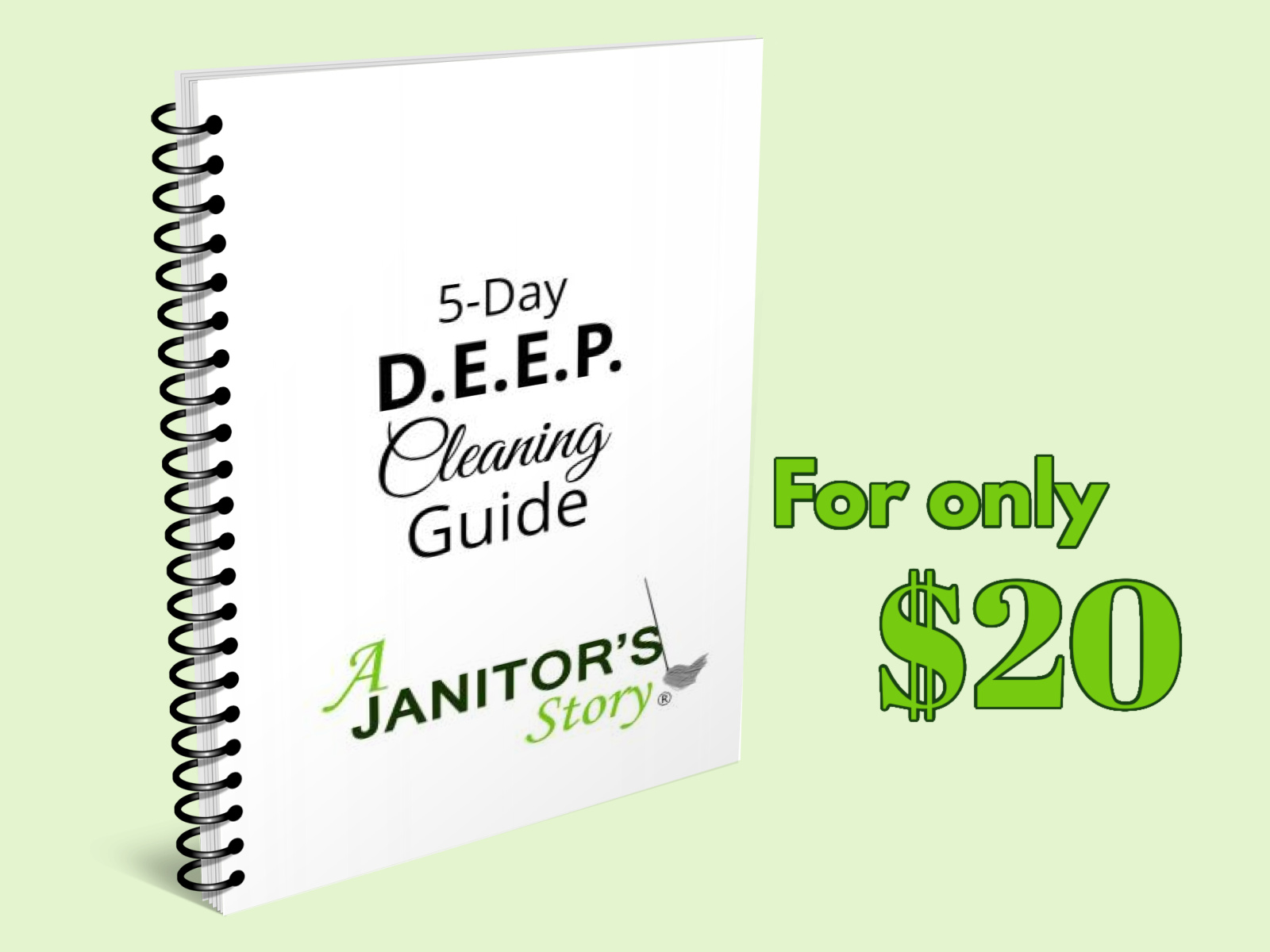 5 day deep cleaning guidebook for cleaning professionals