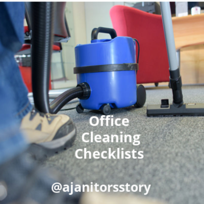 Office cleaning checklist. Vacuuming